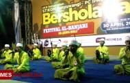Pesantren Darussalam Juara Festival Al-Banjari IPNU-Stikom Banyuwangi