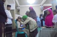 Pondok pesantren Darussalam Bagian Timur Adakan Santunan Yatim Piatu Sendiri