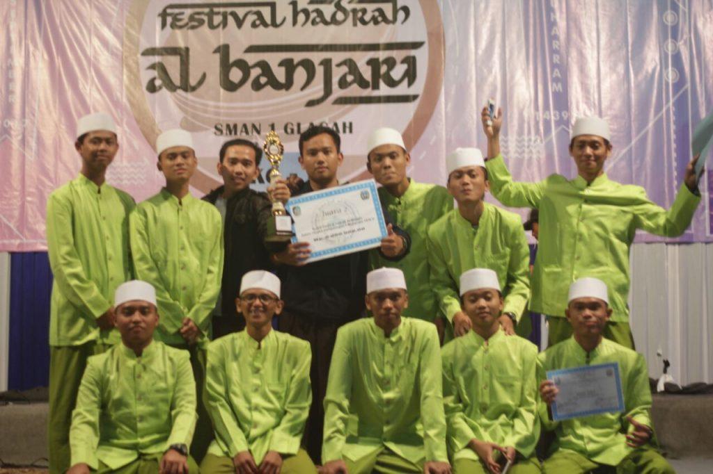 Grup Sholawat Liwa'ul Muriddin Blokagung Kembali Sabet Prestasi