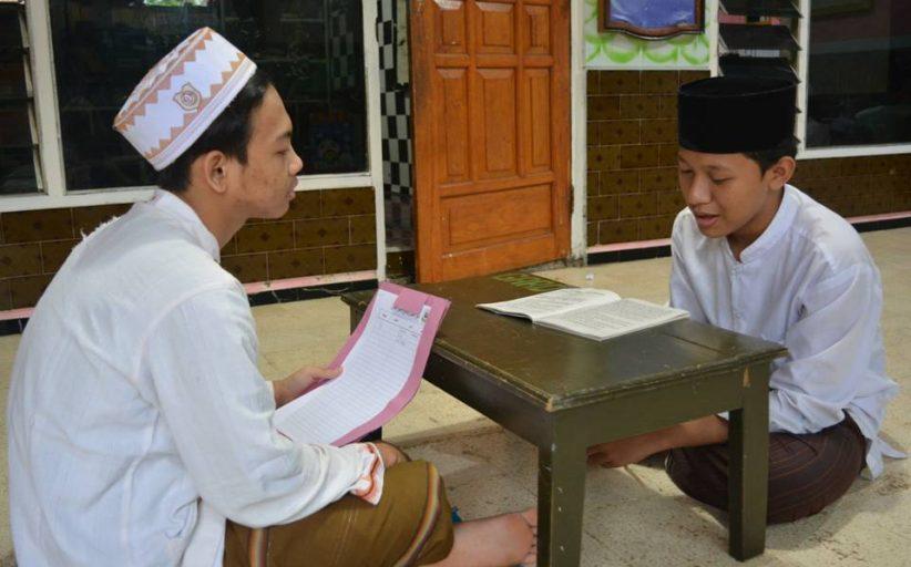 Meriahnya Evaluasi Tes Akhir Asrama Bahasa Arab