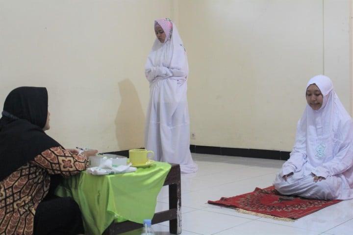 200 Peserta Qiraati Putri Ikuti Tes Kecamatan
