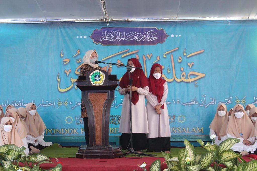 Momen Istimewa saat Khotmil Qur'an bersama KEMENAKER