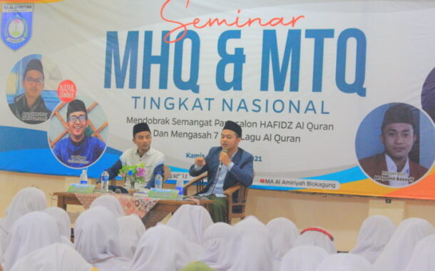 Seminar Dobrak Semangat Hafidz Qur'an Ala MAA